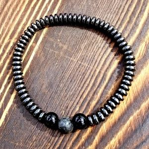 Other - Protective Hematite Marble Bracelet